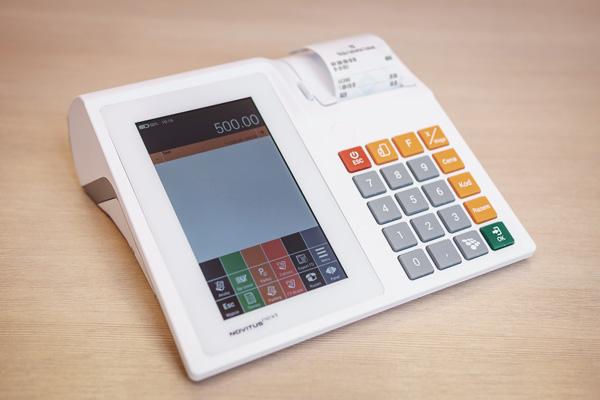 Kasa fiskalna Novitus Next - Pierwsze połączenie kasy rejestrującej i tabletu