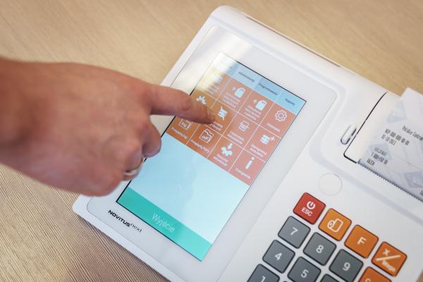 Kasa fiskalna Novitus Next - Interfejs sprzedażowy z funkcją personalizacji